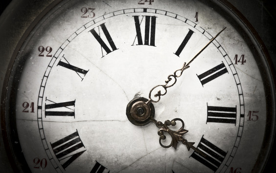 Time is fleeting